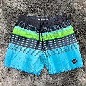 O'Neill | Men's Swim Shorts | Blue and Green